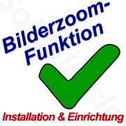 Bilderzoom-Tool Installationsservice