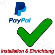 Paypal Installationsservice